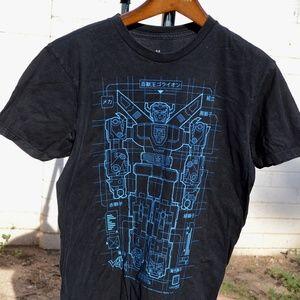 Loot Crate Collectors ITem Voltron Black T Shirt